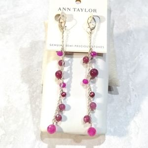 Ann Taylor Semi-Precious stones Earrings.